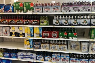 The House passed a bill to allow grocery stores to start selling full-strength beer in April of 2019.