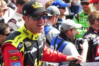 NASCAR driver and Emporia, Kansas native Clint Bowyer