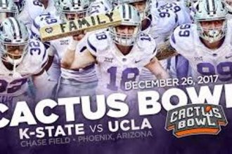 The Kansas State Wildcats face UCLA in the Cactus Bowl tonight (TUE) in Phoenix. (Photo Credit: K-StateSports.com)