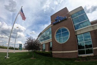 Central Care Cancer Center in Wichita. (Photo by Brian Grimmett, Kansas News Service)