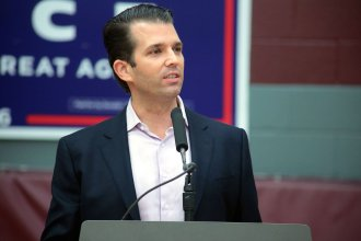 Donald Trump Jr. will be the featured guest at a reception and fund raising dinner at an Overland Park hotel.