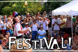 The Lawrence Busker Festival Returns for its 9th year.