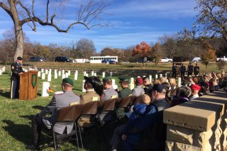 German-Italian POW memorial service held at Fort Riley on Thursday, November 16, 2017. (Photo from the Big Red One)