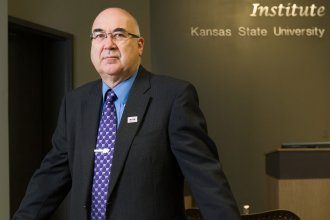 Dr. Stephen Higgs is helping fight the virus through mosquito research. (Photo: Kansas State University)