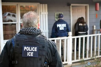 ICE officials have arrested more than 680 individuals across the country in the last week, including 32 in Kansas.