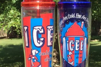 ICEE drinks, also known as Slurpee drinks, are semi-frozen and sometimes carbonated drinks, invented by Omar Knedlik, in Coffeyville, Kansas. (Photo by J. Schafer)