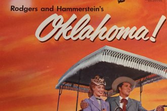An album of music from the musical Oklahoma! (Photo by J. Schafer)