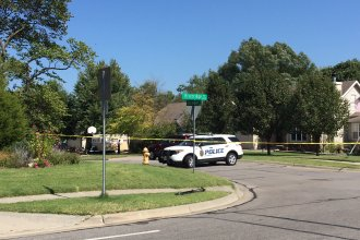 A fatal shooting in the 600 block of North Michigan has claimed the life of a 1-year-old girl. (Photo by J. Schafer)