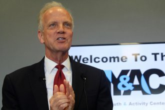 """Kansas Senator Jerry Moran was among the Republicans voting in favor of the so-called """"skinny repeal"""" bill early Friday. The bill to take some parts of the Affordable Care Act off the books failed, 51-49."""