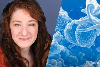 Dr. Joanna Slusky is an  assistant professor of amazing things at the University of Kansas. (Photo from University of Kansas)