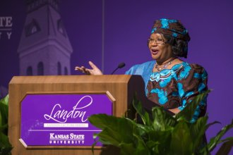 Dr. Joyce Banda at Kansas State University
