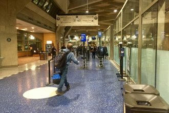 Concourse inside one of three terminals at KCI (Photo by Lisa Rodriguez / KCUR)