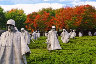 Korean War Memorial in Washington, D.C. (Photo Courtesy of the National Park Service)