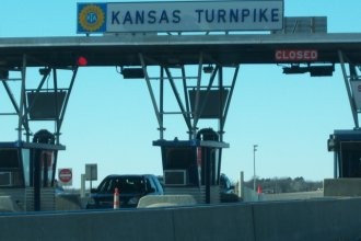 The Kansas Turnpike near Emporia (Image credit: Jared Stump, via city-data.com)