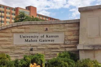 The University of Kansas campus. (Photo by J Schafer)