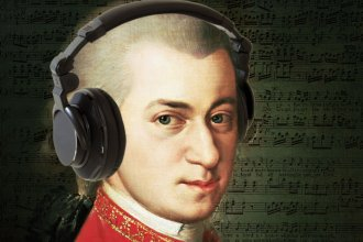 Wolfgang Amadeus Mozart... likely listening to #MyKPR!