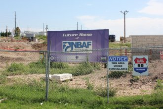 The $1.25 billion facility is a biosafety level-4 laboratory and will replace the aging Plum Island Animal Disease Center in New York. NBAF is expected to be operational by 2022-2023. (File photo from KCUR Radio)