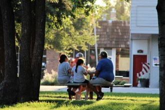 Foster care agencies say they've given masks and electronic devices to foster families to help them through the pandemic. (Photo by Corinne Boyer, Kansas News Service)