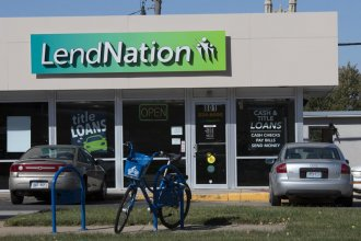 Kansans took out $267 million in payday loans in 2018. Some community and religious groups want to change the rules for those loans. (Photo: Nomin Ujiyediin, Kansas News Service)