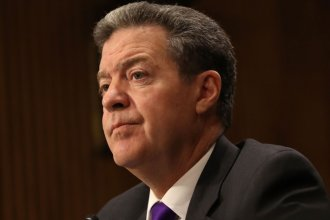 On a narrow vote, the U.S. Senate confirmed Kansas Governor Sam Brownback as ambassador-at-large for international religious freedom, a post in the U.S. State Department.