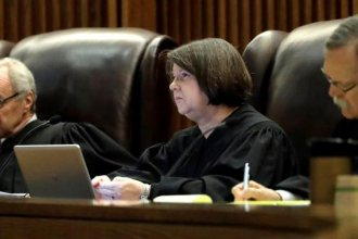 Kansas Supreme Court justices heard arguments on whether education funding in the state is adequate. (Photo: Associated Press)