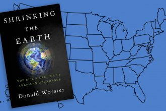 Shrinking the Earth is the title of a new book by Kansas historian Don Worster.  In it, he writes that when Europeans discovered the New World for themselves, it was like discovering a new planet.  But a lot has changed in the past 600 years.