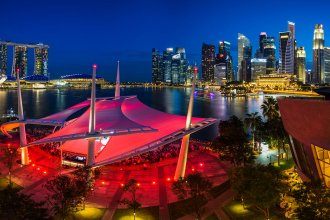 The Singapore skyline. (Flickr Photo by Joseph Tay)