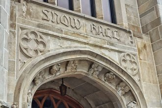 Snow Hall, on Jayhawk Blvd. (Photo by J. Schafer)