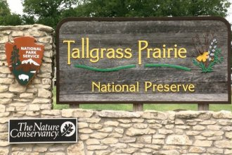 Tallgrass Prairie National Preserve in Chase County, Kansas (Photo by Dave Kendall)