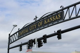 City of Topeka sign (Photo by J. Schafer)
