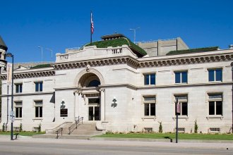 The Wichita City Carnegie Library (image credit: Judy Handley via commons.wikimedia.org through CC BY-SA 3.0)