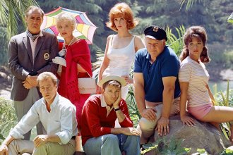 """The TV comedy show """"Gilligan's Island"""" aired on CBS from 1964 to 1967."""