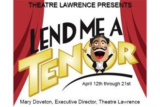 """Lend Me a Tenor"" at Theatre Lawrence"