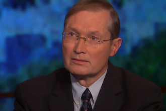 Mike Lofgren, a former congressional staffer, wrote <em>The Deep State</em> in 2016. While the term is now widely in use, it's not in the way that Lofgren intended. He appears here on a PBS program hosted by commentator Bill Moyers.