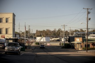 A view of the Koch Foods chicken processing plant in Morton, Miss.