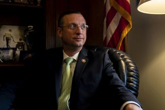 Rep. Doug Collins, R-Ga., ranking member on the House Judiciary Committee, in his office on Capitol Hill.