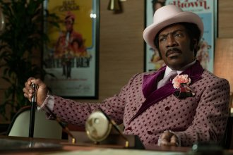 In <em>Dolemite Is My Name</em>, Eddie Murphy leads the star-studded biopic about Rudy Ray Moore, whose iconic alter ego became a blaxploitation legend.