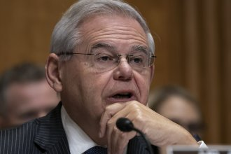 Sen. Bob Menendez, D-N.J., is a co-sponsor of the resolution to commemorate the Armenian genocide that passed the Senate Thursday.
