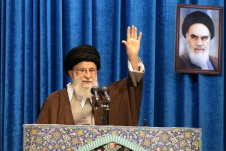 Supreme Leader Ayatollah Ali Khamenei's speech came after a period that saw mass public support after the death of a Iranian general and outrage over the downing of a commercial airliner.