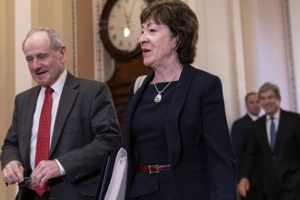 Sen. Susan Collins, R-Maine, was among a group of Senate Republicans who insisted that the time each side has to make its case be extended.