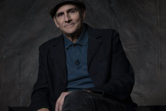 """The title of James Taylor's audio memoir <em>Break Shot</em> refers to the first shot in a game of pool when order is suddenly broken. """"That seemed like an apt metaphor for what happened to my family,"""" he says."""