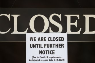 Millions of jobs have been lost as businesses keep their doors closed to slow the spread of the coronavirus. Working women have been hit hardest, accounting for nearly 60% of the early job cuts.