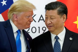 """President Trump and China's President Xi Jinping, shown in 2019, have faced criticism for their handling of the coronavirus. Both are now pushing hard for a vaccine. The United States has already agreed to pay a drug company more than $1 billion to produce a vaccine that's yet to be approved. Xi says if China succeeds in developing a vaccine, it will be declared """"a global public good."""""""