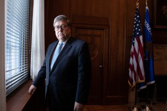 In an NPR interview, U.S. Attorney General William Barr defended the Justice Department amid accusations of political interference, including recently in the case of former national security adviser Michael Flynn.