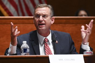 Rep. Doug Collins, R-Ga., speaks during a House Judiciary Committee markup of the Justice in Policing Act of 2020 on Capitol Hill last month.