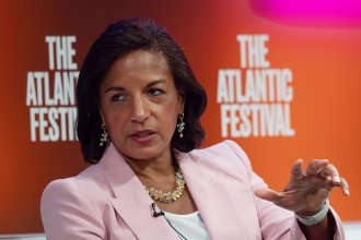 Former national security adviser Susan Rice, seen here at the Atlantic Festival in 2019, is on Joe Biden's vice presidential shortlist.