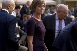 Former Deputy Attorney General Sally Yates arrived for a ceremony for FBI Director Christopher Wray in 2017. Yates is set to appear before a Senate panel looking into the Russia investigation.