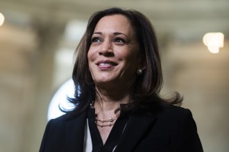 Sen. Kamala Harris is Democratic presidential hopeful Joe Biden's pick as his running mate — a choice that many are celebrating in India, where Harris' mother was from.