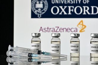 """AstraZeneca, along with Oxford University, announced early Monday its vaccine trial was shown to be """"highly effective"""" in preventing COVID-19."""