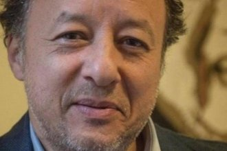 Gasser Abdel Razek, executive director of Egyptian Initiative for Personal Rights, in a photo from the organization's website. Abdel Razek was arrested with two other officials of the civil rights organization after the met with European ambassadors.